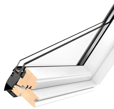 Velux Centre Pivot White Painted Finish 55x78 Roofnstop Ie